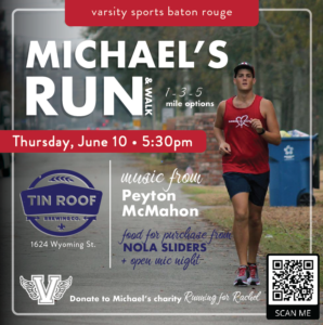 Run For Michael - 1,3 and 5 Mile Walk or Run @ Tin Roof Brewery